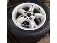 """16"""" Alloy wheels and tyres"""