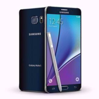 Pre owned Samsung Note 5 Black for sale @ Phonebot