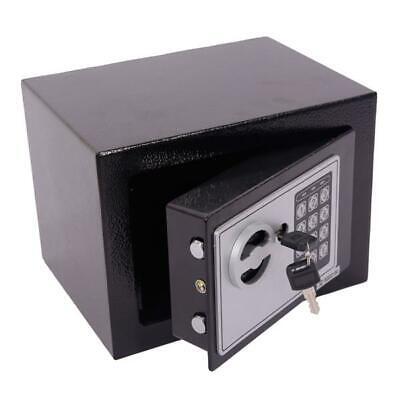 Fireproof Digital Safe Combination Cash Box Lock Safety Deposit Small Drawer Gun