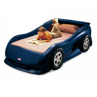 LITTLE TYKES BLUE RACE CAR BED