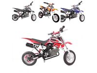Brand new MotoX1 49cc/50cc mini moto pocket bike scrambler DIRT BIKE!
