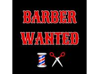 Barber required up to £100+ a day