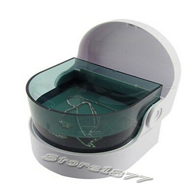 New Cordless Ultra Sonic Cleaner Bath For Coins Jewelry Denture S852
