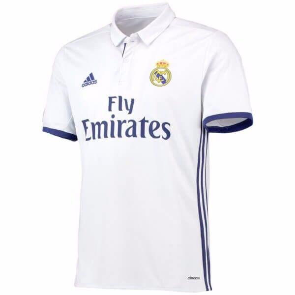 4294c8f5ae0 BNWT - Adidas Real Madrid Home 2016 2017 Los Blancos Football Shirt Jersey  - Small - Ronaldo 7