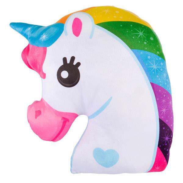 "16"" Unicorn Rainbow Pillow Cushions Kids Room Decor Plush To"