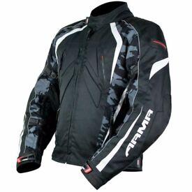 ARMR Moto Shiro Jacket - Black / Camo