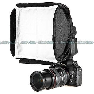 Mini Portable 9inch/23cm Softbox Diffuser for Flash/Speedlite/Speedlight 23x23cm