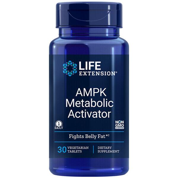 AMPK Metabolic Activator Life Extension 30 Veg tabs