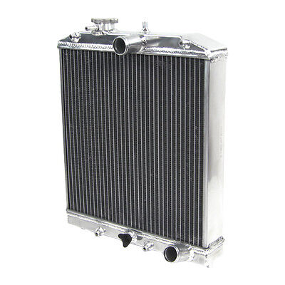 3 Row Aluminium Racing Radiator For Honda Civic EG EK 1992 2000  Del Sol 93 97