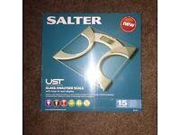 Salter Body Fat Analyser Bathroom Scales *NEW*
