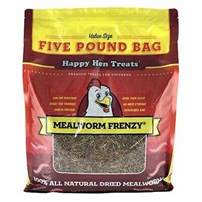 Happy Hen Treats™ (#17006) Mealworm Frenzy Pet Treat, 5 lb bag