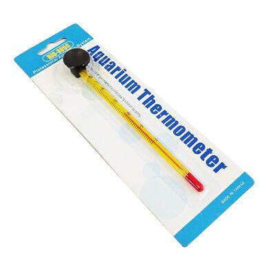 Aquarium Thermometer Glass Precise Fish Tank Temperature Submersible HJS-305C