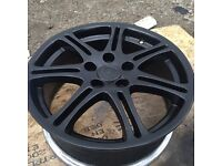 Honda Civic type r alloys just been