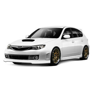 STI look full body kit for 2008 2009 impreza WRX hatchback