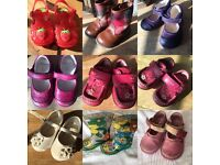 Girls infant size 4, 4.5, 5 shoe bundle