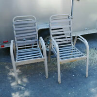 Four outdoor patio chairs $40 OBO for the set!