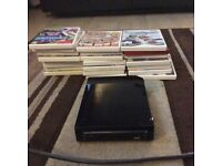 Wii with games and more