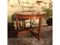 Oval Mahogany Coffee/ Occasional Table
