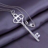 Brand New* Sterling Silver Key Pendant (Pendant Only)