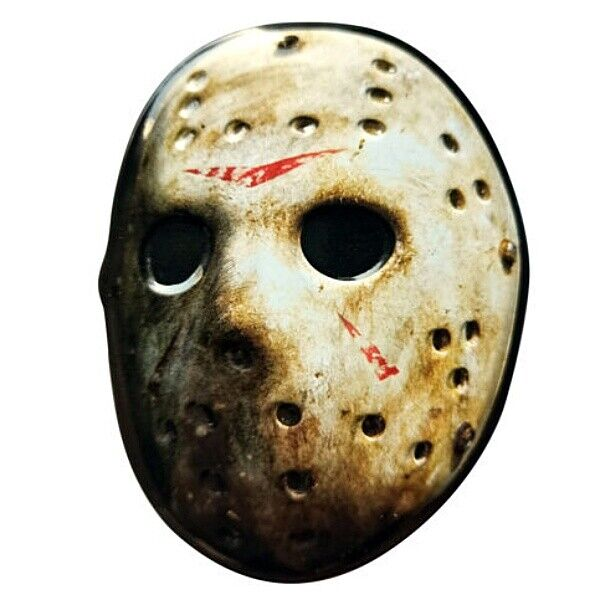 Friday the 13th Movie Jason Cleaver Shaped Candy Embossed Metal Tin NEW SEALED