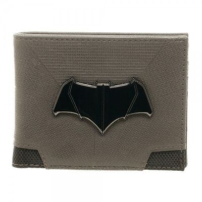 Batman v Superman Dawn of Justice Suit Up Logo Bi-Fold Mens Wallet  - Batman V Superman Suit