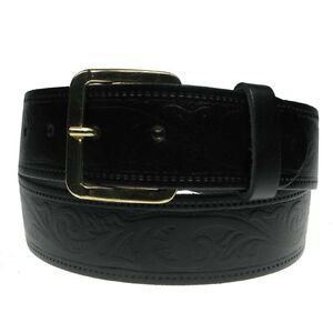 New Genuine Full Grain Mens Leather Belt Made in the UK