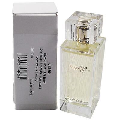 Lalique NILANG 100ml / 3.3 fl.oz.Eau De Parfum new tester bottle with cap in box