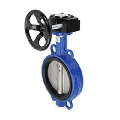 Gear Operated Wafer Butterfly Valve-Size:4