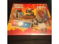 SHAUN THE SHEEP BRAND NEW AND SEALED 2017 CALENDAR
