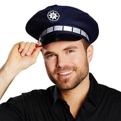 Kostüm-Zubehör Polizeimütze 55 cm Karneval Fasching - Polizei Kostüm Zubehör
