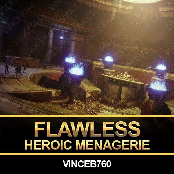 Destiny 2 Flawless Triumph Menagerie Heroic PS4 Week 1
