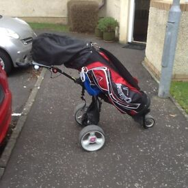 Golf Clubs-Mocad Electric Golf Cart
