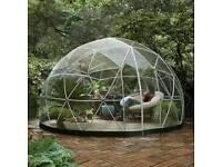 Garden igloo sunroom