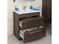 Vanity unit with sink (Brand New)
