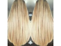 HAIR EXTENSIONS - NANO RINGS MICRO WEAVE REMY FUSION DOUBLE DRAWN MOBILE MANCHESTER PRESTON