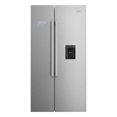 Beko EcoSmart ASD241X American Style Fridge Freezer (IP-IS267034705)