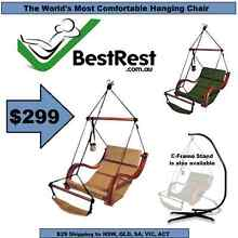 NEW - BEST REST Hammock Hanging Chair Deluxe Air Porch Lounger Newcastle 2300 Newcastle Area Preview