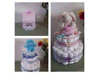 Nappy cakes/ nappy owl cakes/ cupcake bundles