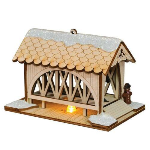Ginger Cottage Amish Covered Bridge 80012