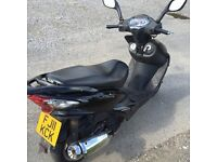 Sym 125 cc 2011 plate Perfect runner swap for Corsa/Polo