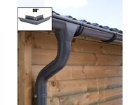 Zinc guttering kit for hipped roof   Available in anthracite (RAL7024)!