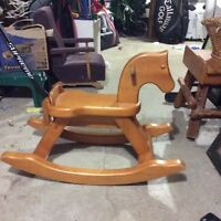 Solid Rocking horse