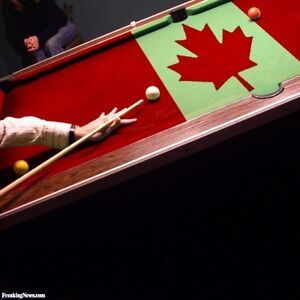 Canada billiards Pool table  for over 20 years !!
