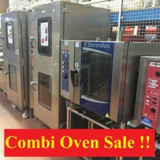 Combi Ovens - New - Used - Clearance Sales - Catering Equipment