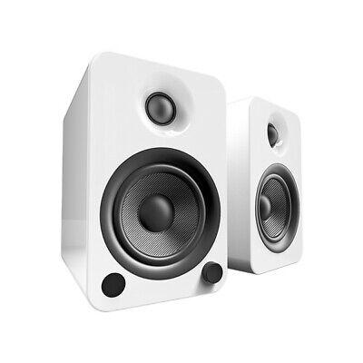 Kanto Audio Yu4 Bookshelf Speakers - Matte White