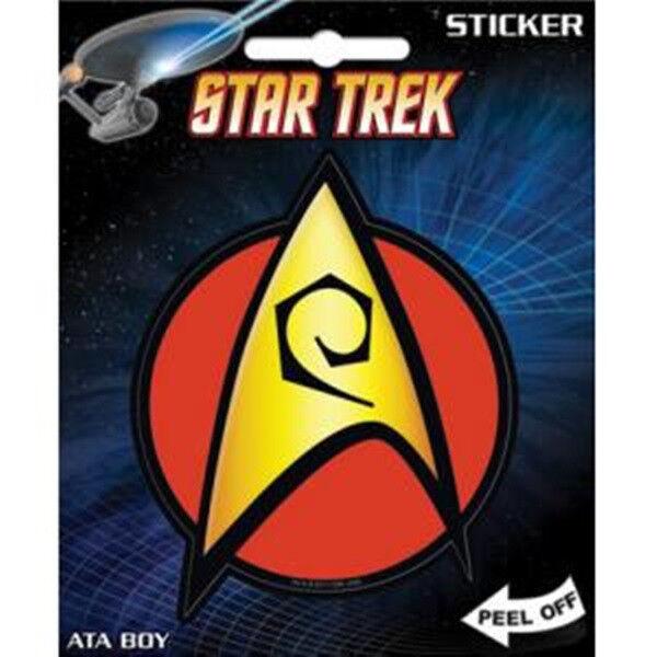 Star Trek Classic TV Series Engineering Logo Peel Off Sticker Decal, NEW UNUSED