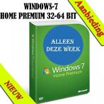 _Windows 7 Home Premium SP1 Licentiecode | zowel 32 & 64 bit