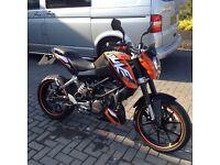 KTM Duke 125 ideal learner bike