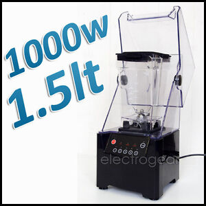 NEW-1-5L-COMMERCIAL-GRADE-ICE-BAR-FRUIT-BLENDER-frozen-yogurt-stainless-steel