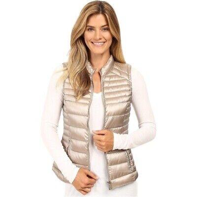 Calvin Klein Thistle (Calvin Klein Metallic Puffer Vest Size M Shine Thistle)